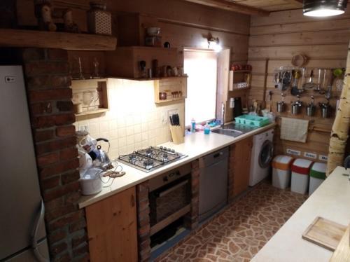 16 Salon z kuchnia